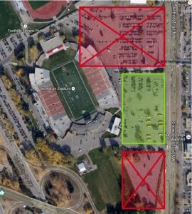 McMahon Stadium parking