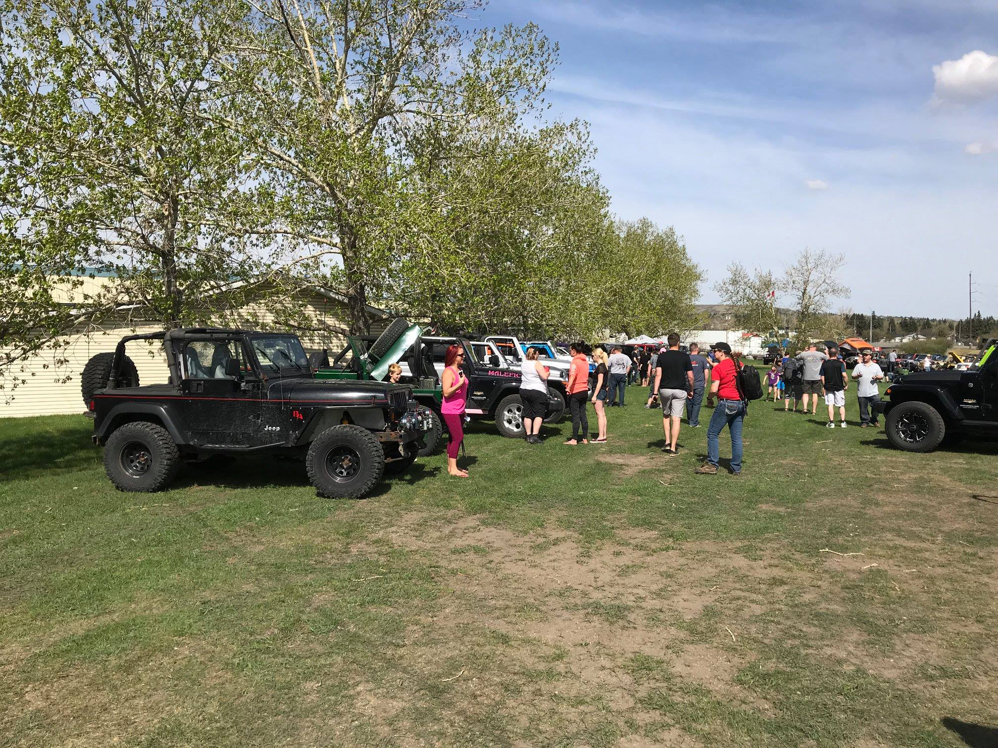 7th Annual Canadian Jeep Girls Go Topless Day